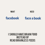 La diferencia entre 'querer' y 'necesitar' (posters) - El Chimpancé (vía: @yilemherrera)